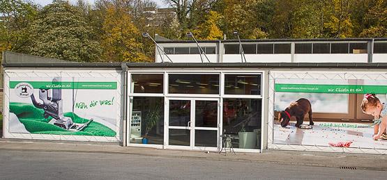 Nähmaschinen Haupt Ladenlokal